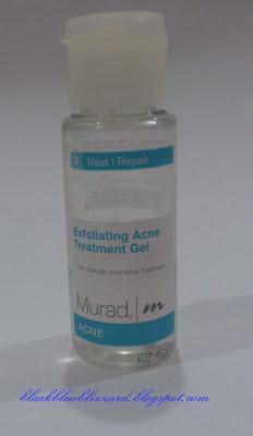 murad, exfoliating acne treatment gel, acne treatment, exfoliating