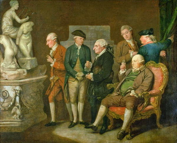 Charles Townley with a Group of Connoisseurs