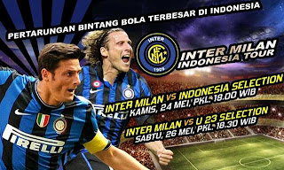 Timnas Indonesia vs Inter Milan