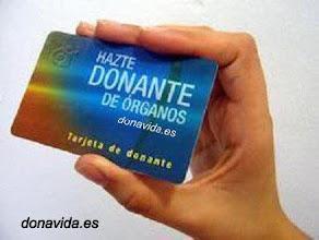 HAZTE DONANTE DE ÓRGANOS