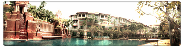 Sokha Angkor Resort and Spa panoramic