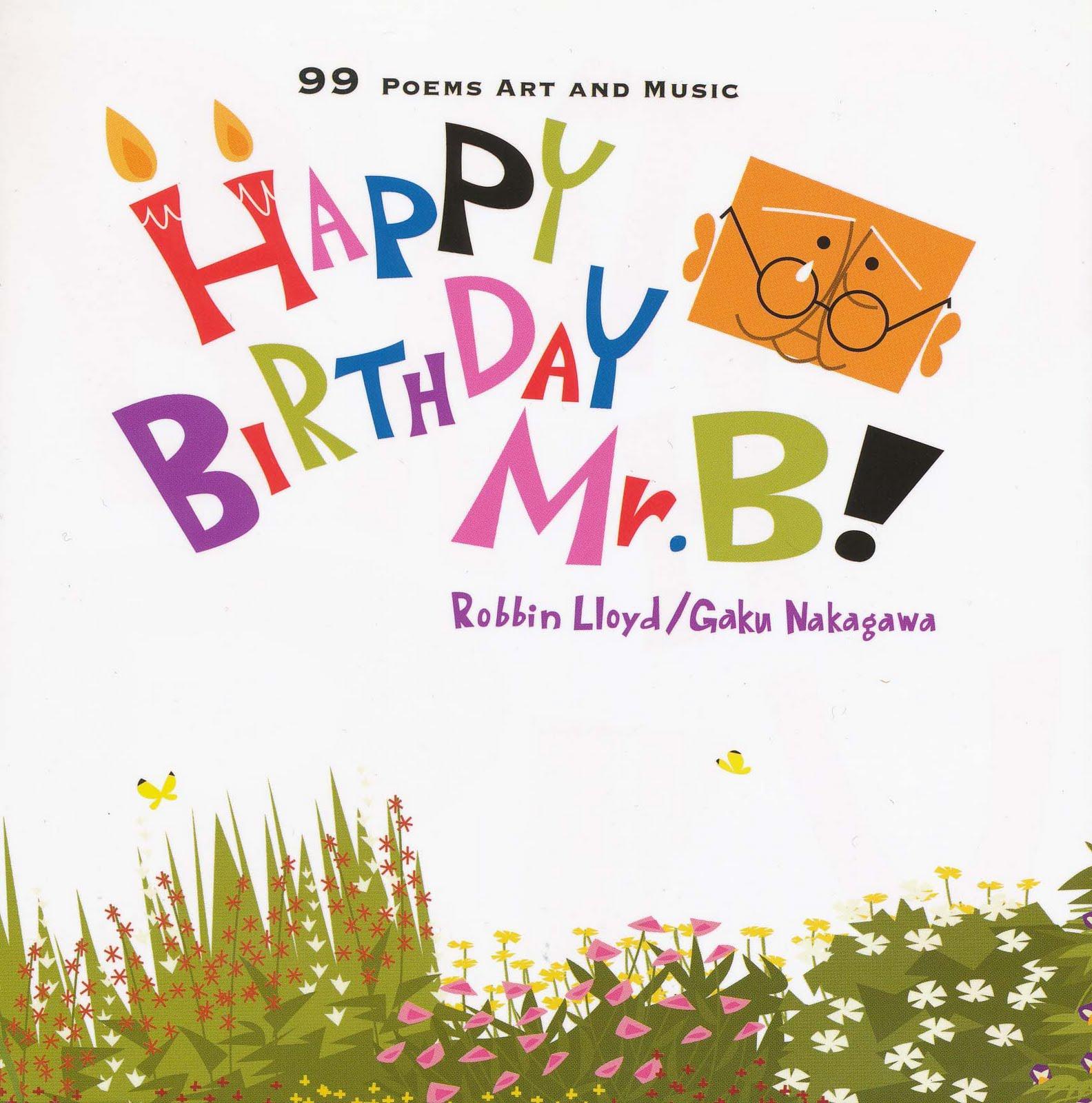 Happy Birthday Mr B Inside Kyoto