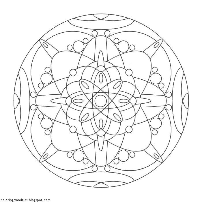 Coloring Mandalas 14 Manipura