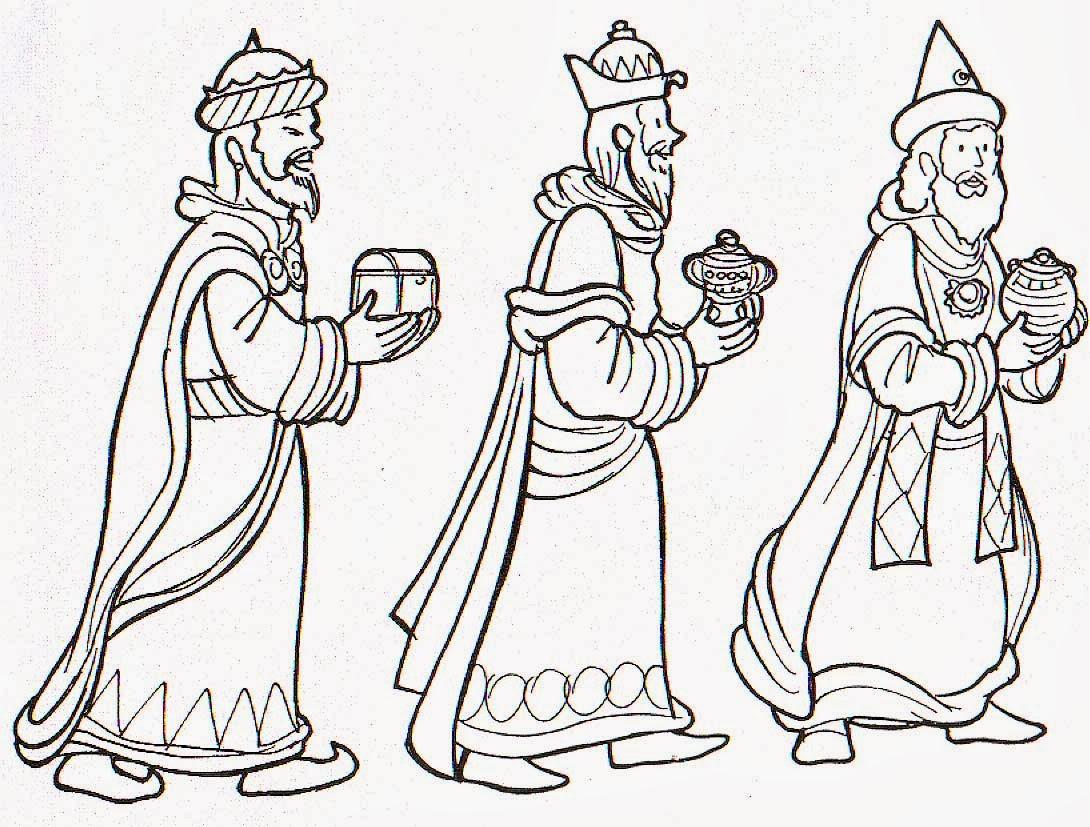 Estos dibujos para dejar junto a sus zapatos para que los reyes se