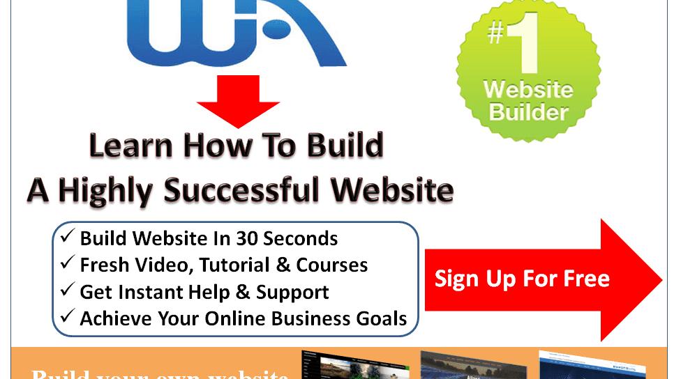 Web Design - Building A Website Free