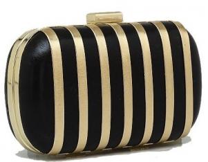 bolsa de festa preta