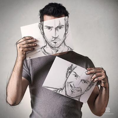 Sébastien Del Grosso, Sketch of a Life, dibujo, fotografía