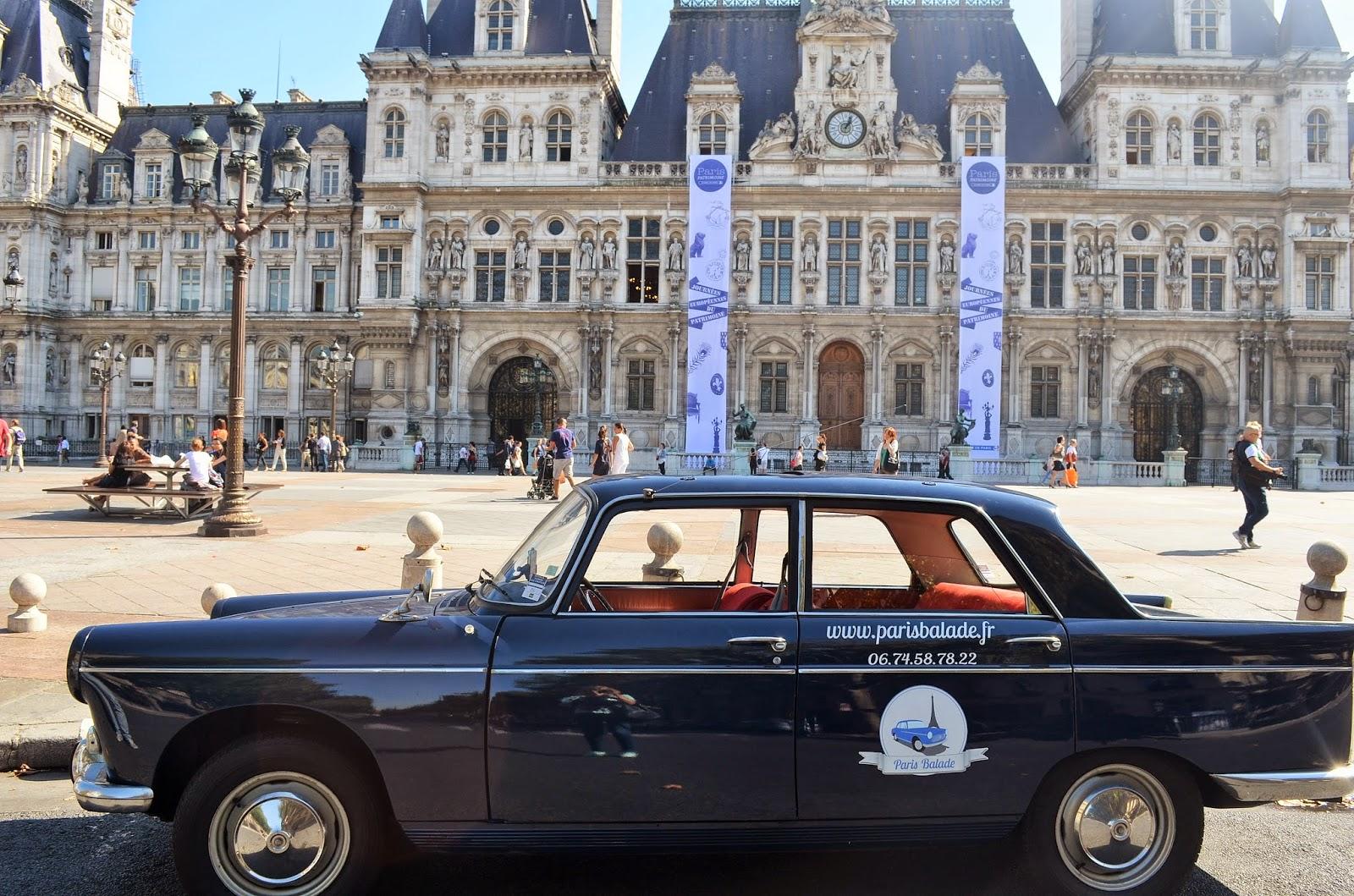 paris balade d couvrir paris en voiture de collection parisian touch. Black Bedroom Furniture Sets. Home Design Ideas