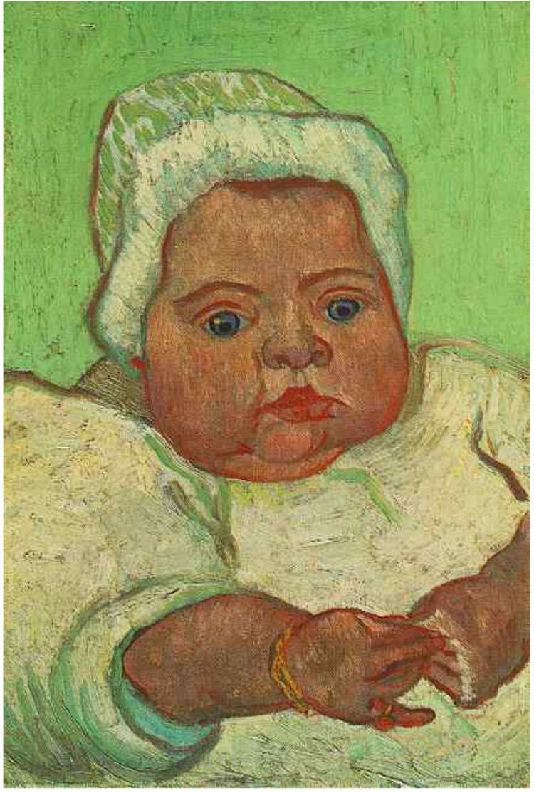 O Bébé Marcelle Roulin