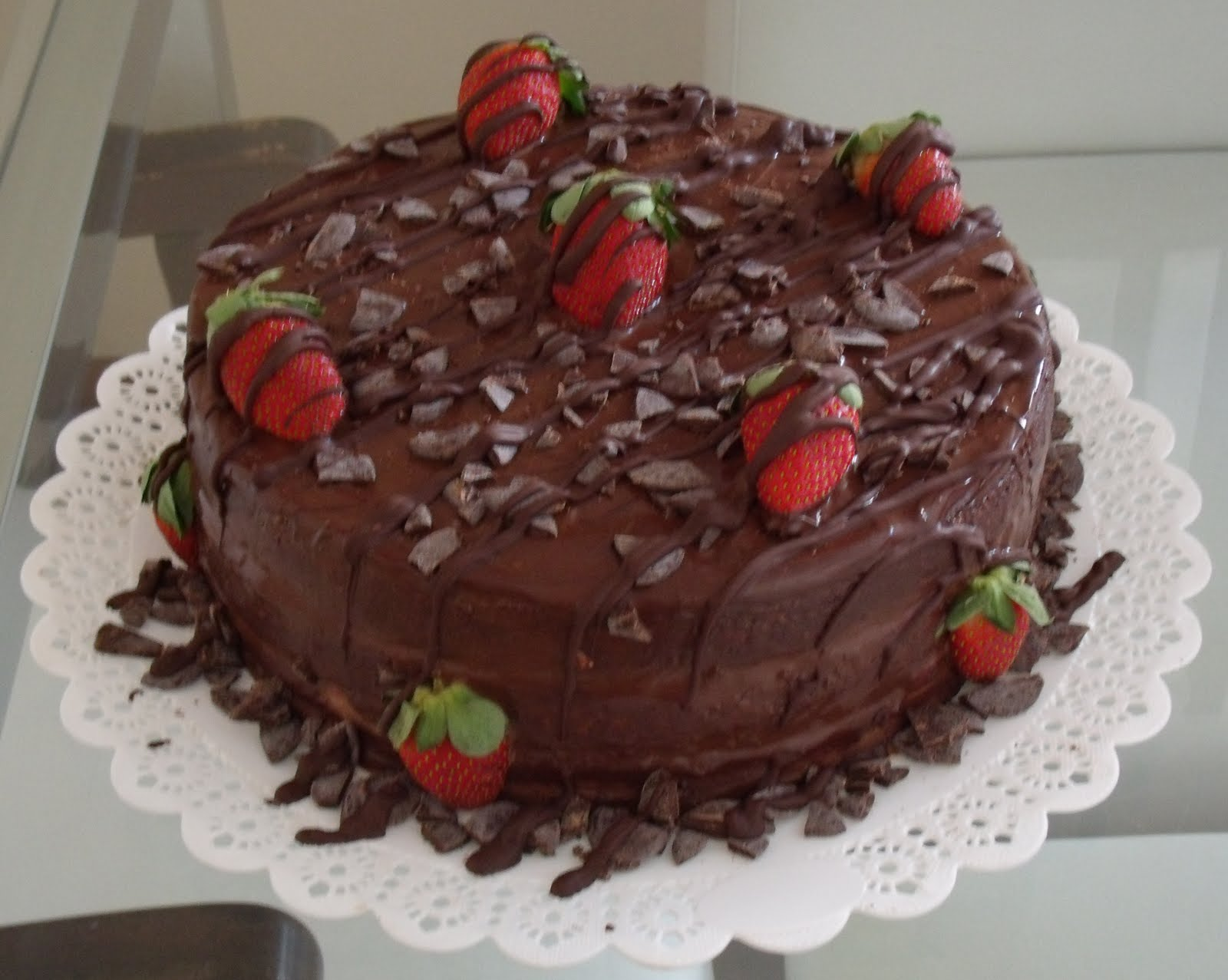 Strawberry Fondant Chocolates