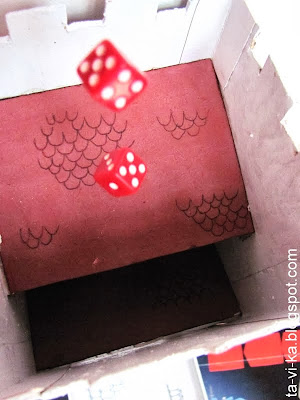 как сделать dice tower