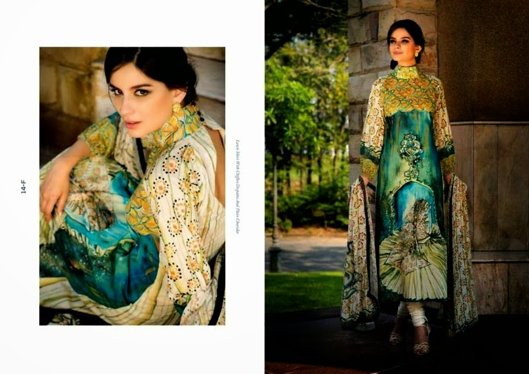ReshamGhar 2014 Fashion Lawn Collection
