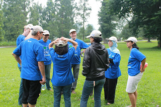 Pelatihan Outbound leadership skill