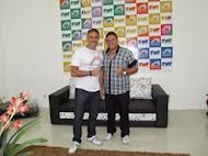 Eu e o Ator da Globo Oscar Magrine
