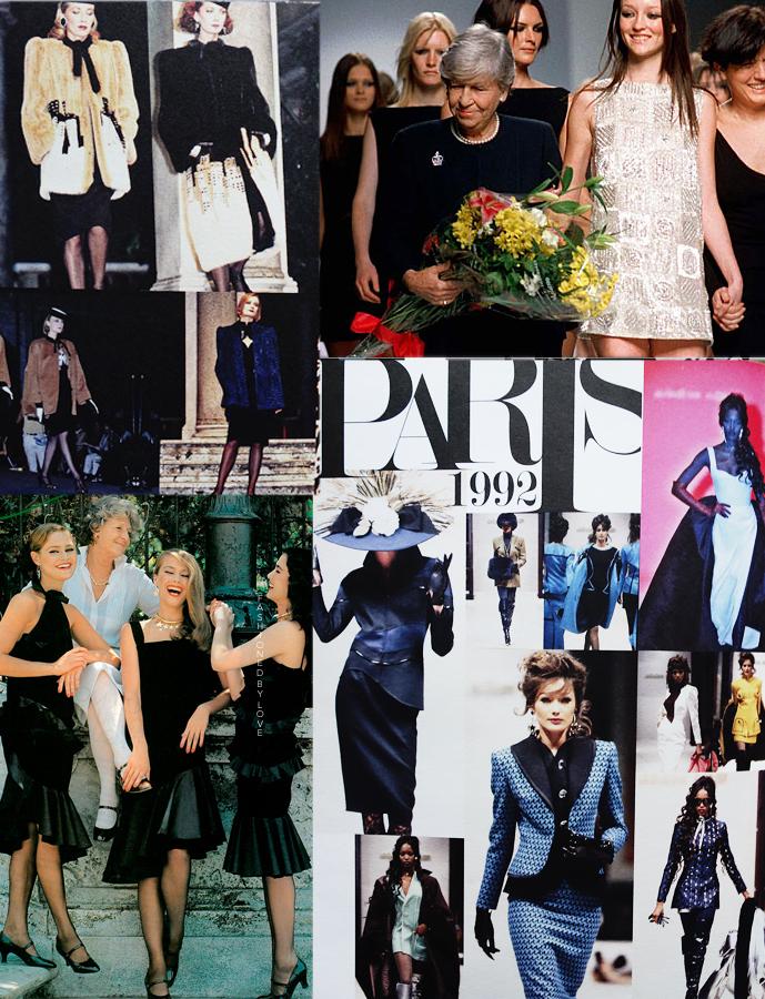 Mila Schon fashion shows in Rome and Paris via www.fashionedbylove.co.uk