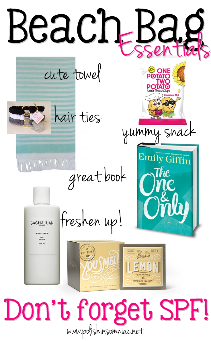 Beach Bag Essentials - Just Add SPF!  #MustHaveBox #sponsored