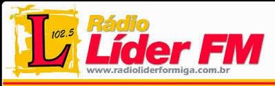 ouvir a Rádio Líder FM 102,5 ao vivo e online Formiga MG