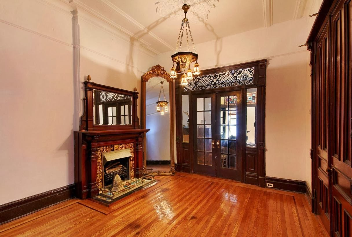 Victorian gothic interior style october 2013 Brooklyn brownstone interior