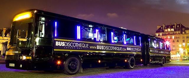 Une nuit parisienne de folie pour 1 ou 8 personnes dans un bus discothèque réservé aux filles