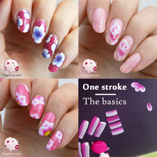 Piggieluv one stroke the basics with video tutorial one stroke the basics with video tutorial prinsesfo Images