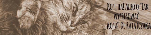 """Kot, ha! Albo o """"Jak wytresować kota"""" D. Ratajczaka"""