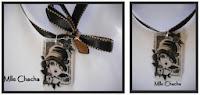collier, pendentif, rétro, vintage, romantique, bohème, Bandeau, turban, ceinture, accessoire de mode, créateur,Mlle chacha, bandeau, col écharpe, turban, français, fait