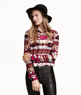 OPTW | H&M Aztec Pattern Shirt