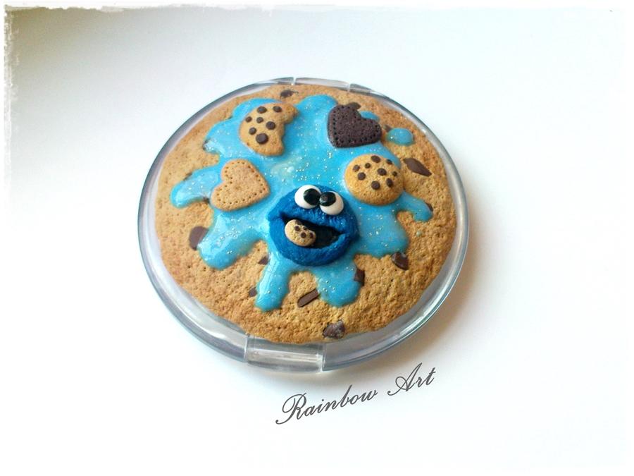Lustereczko z Cookie Monsterem