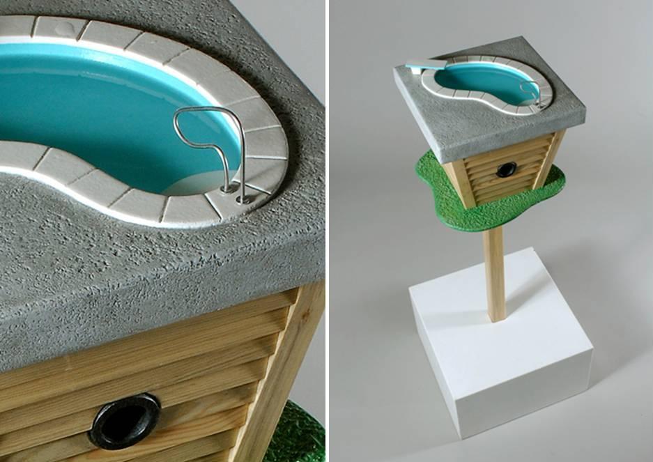 L 39 ortodimichelle attico con piscina per uccellini - Attico con piscina ...