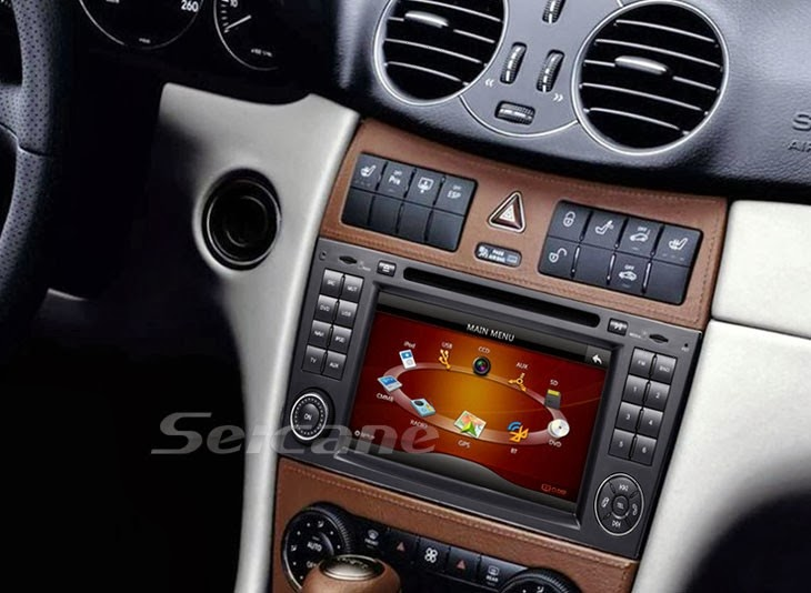 7 inch car dvd player for 2005 mercedes benz w209 for How to use mercedes benz navigation system