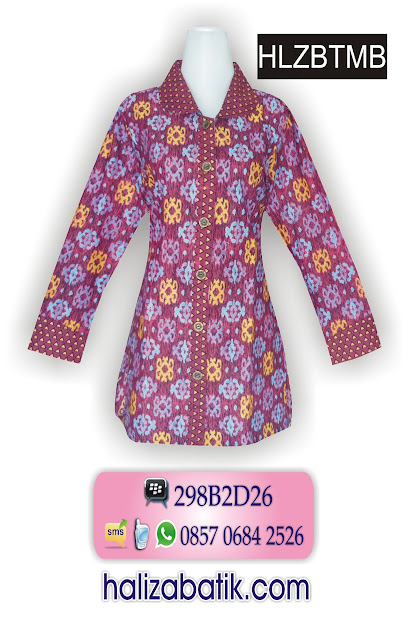 085706842526 INDOSAT, Baju Batik Seragam, Batik Busana Muslim, Model Batik, HLZBTMB, http://grosirbatik-pekalongan.com/Blus-hlzbtmb/