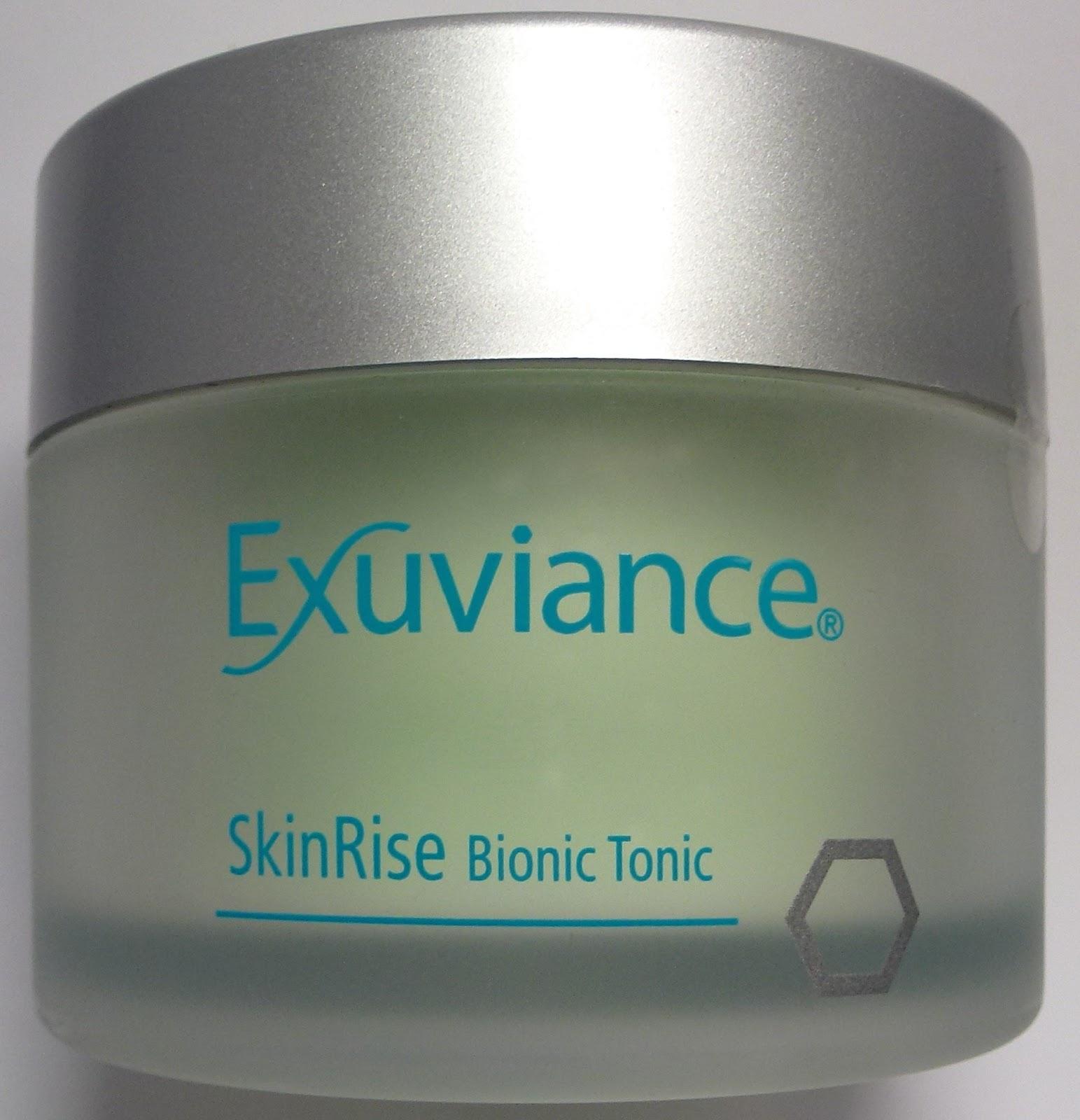 exuviance skinrise bionic tonic pads recension