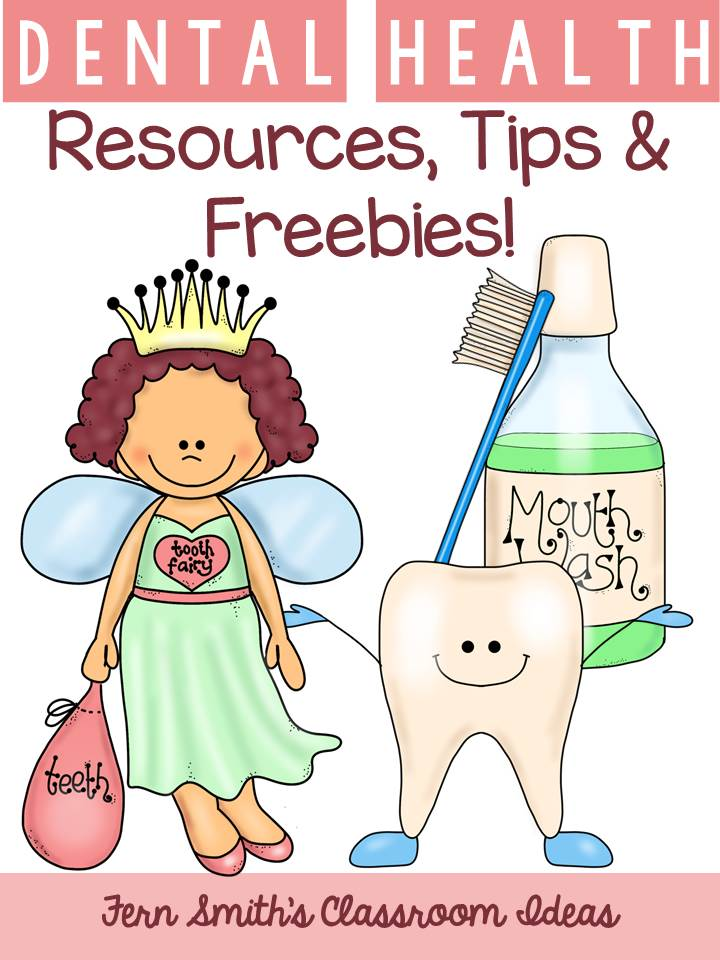 Fern Smith's Classroom Ideas for Dental Health Month with a Freebie!