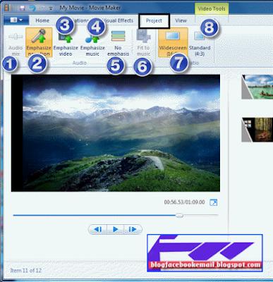 cara menggunakan fitur windows movie maker