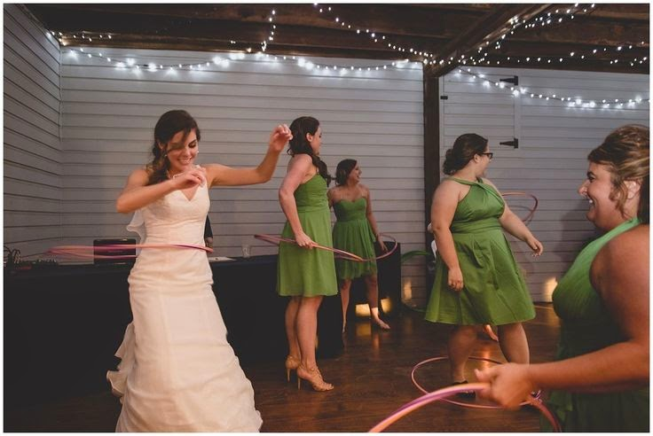 bride with hula hoop Lenora's Legacy