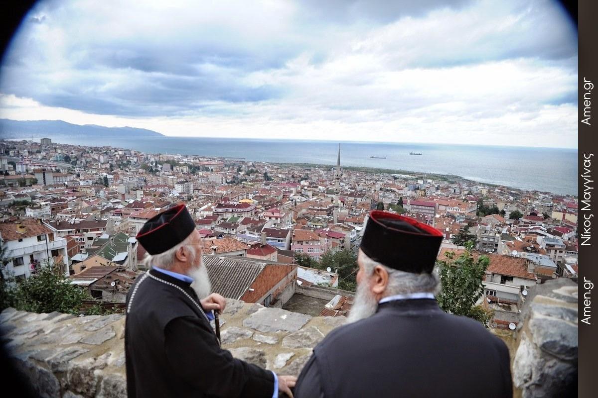 Επίσκεψη του Οικουμενικού Πατριάρχη στην Τραπεζούντα και σε ιστορικά μνημεία του Πόντου - Φωτογραφίες