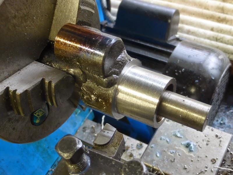 turning 1 inch thread major diameter