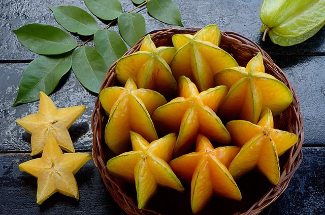 La carambola la carambola for Mapo frutto