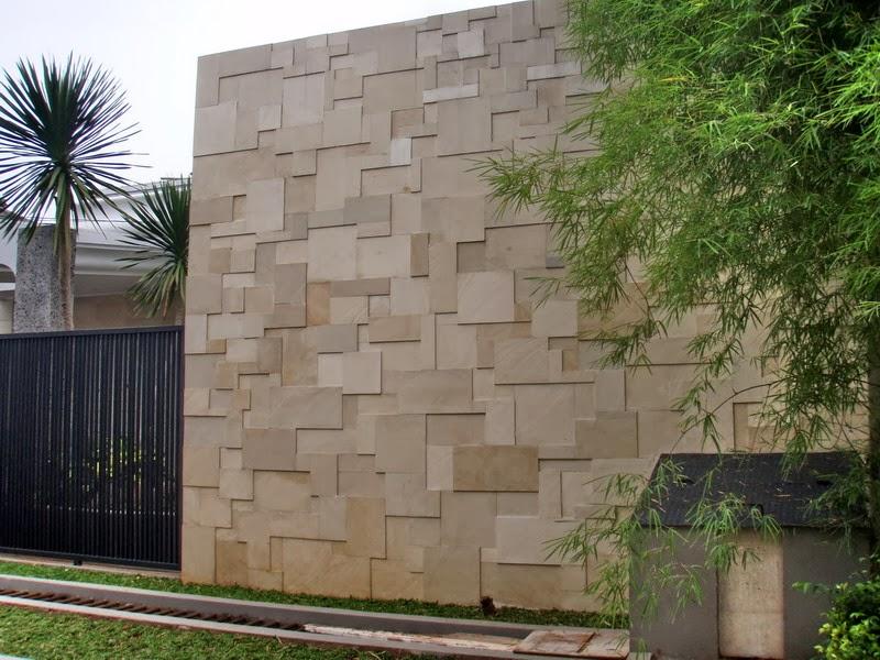 saya suka cerita batu alam untuk fasad rumah
