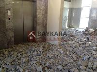 DHL Express Yenibosna, Bina İçi Kırım, Kaba Temizlik- Eren İnşaat