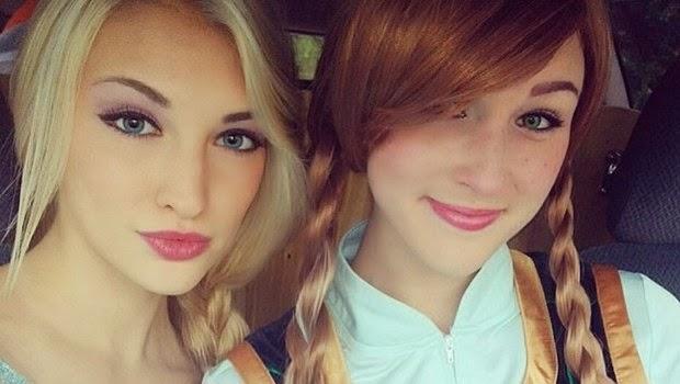Anna Bersama Sahabatnya Brittany Lee
