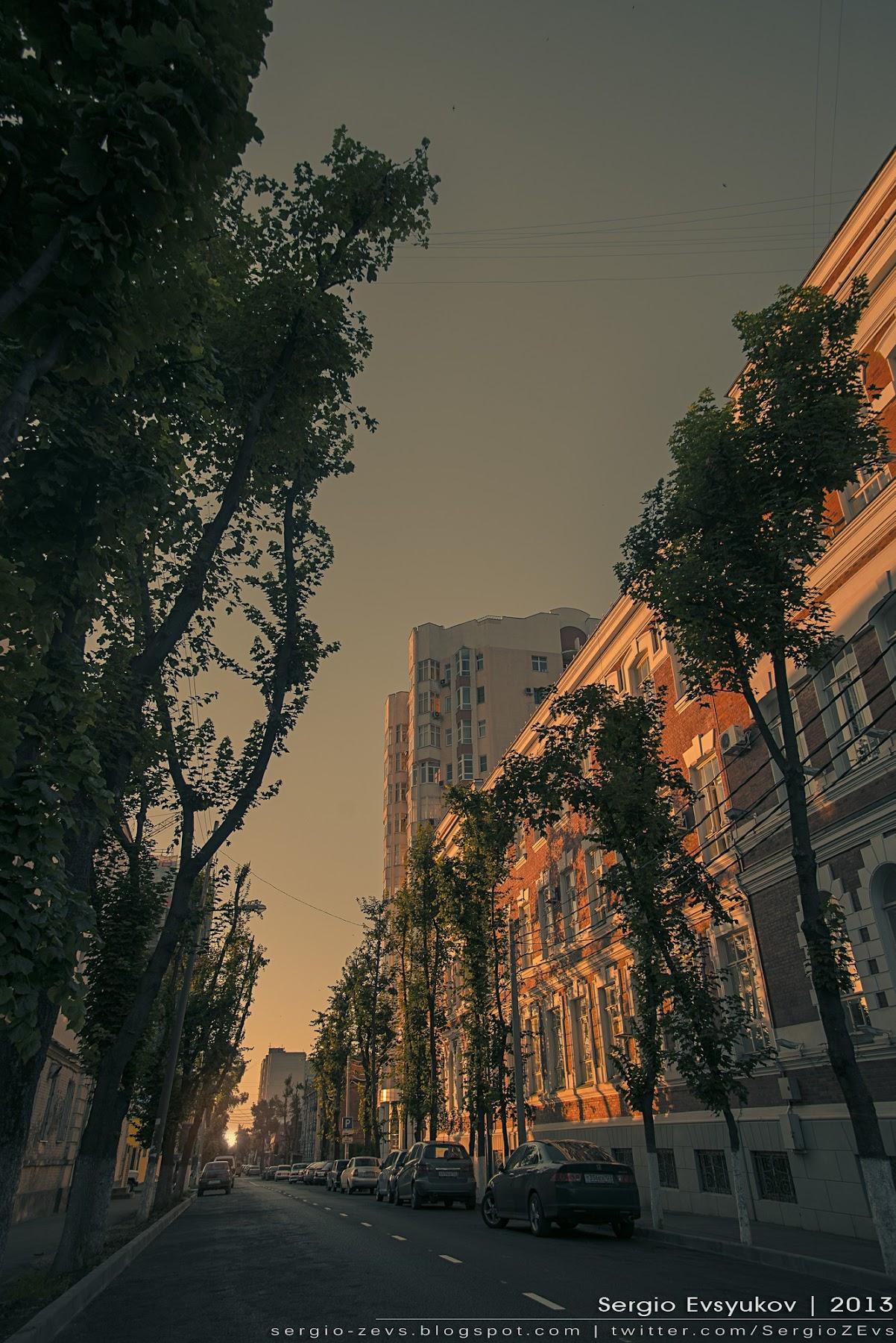 morning city