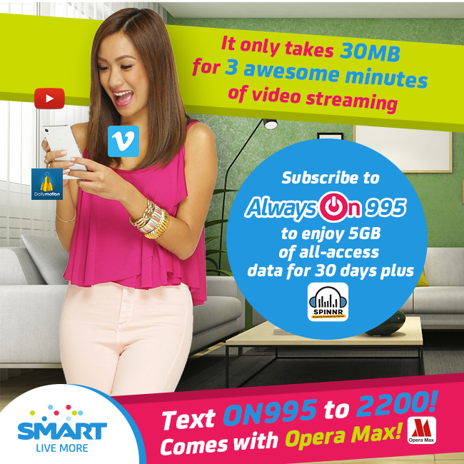 SMART Always ON Internet Promo 2015