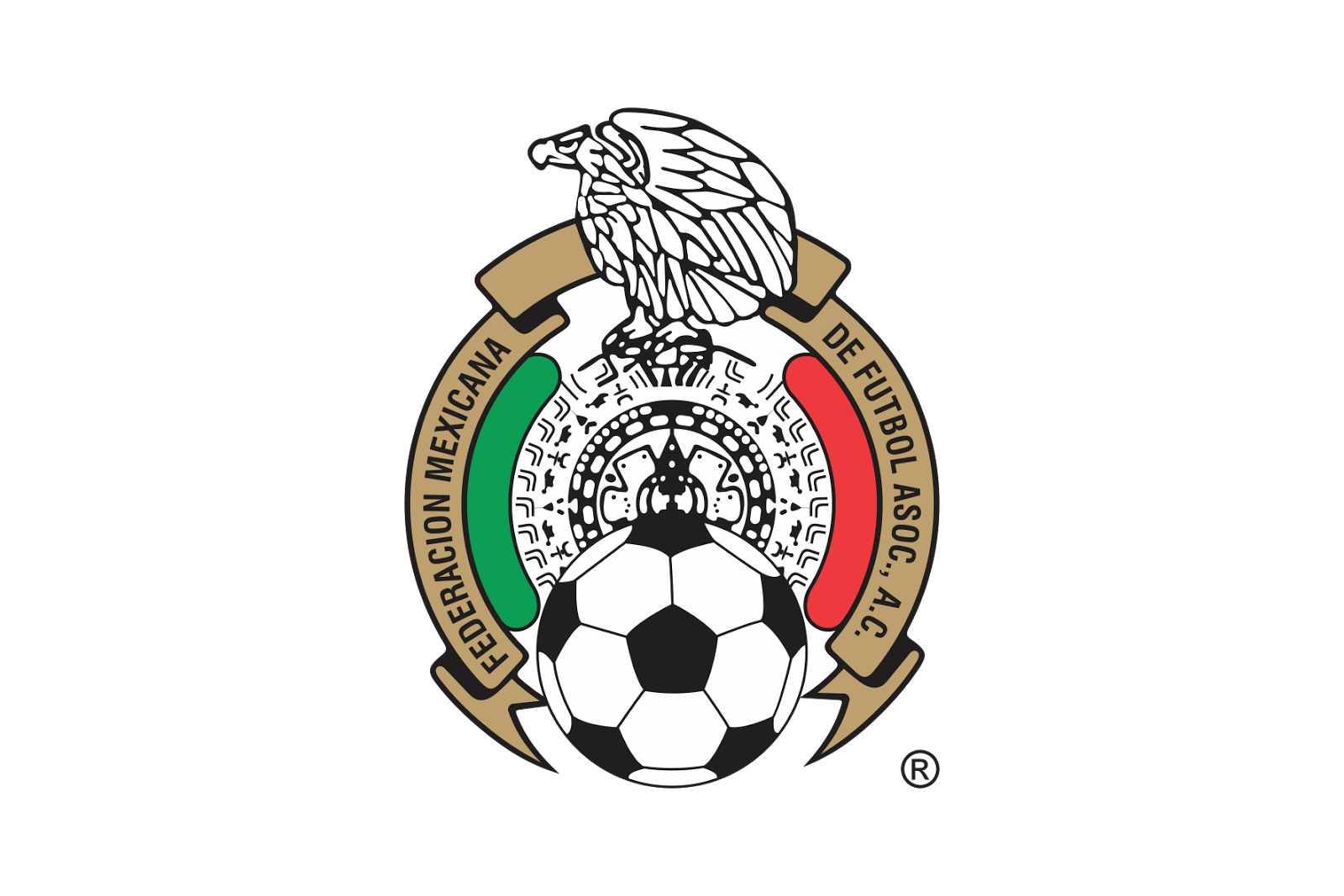 Mexican federation of association football logo for Mexican logos images