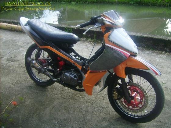 Artikel Terkait Modifikasi Vega R ZR DB Terbaru (Yamaha) : title=