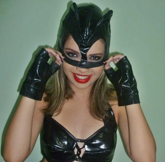Festa à Fantasia de Mulher Gato
