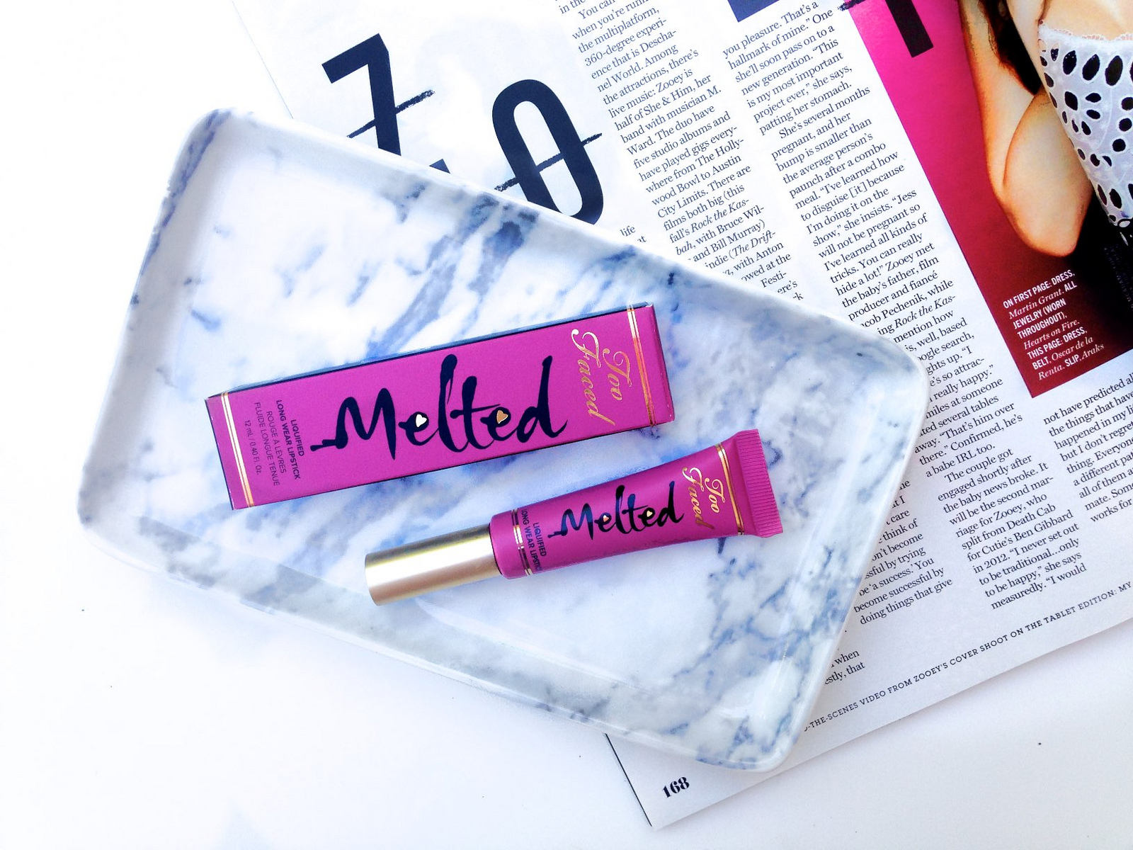 Too Faced Melted Lipstick in Fig