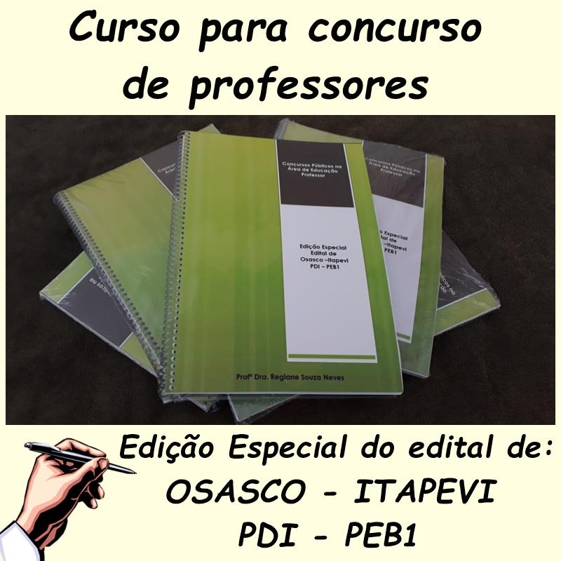 Curso preparatório para Concursos Públicos da Educação
