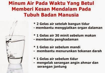 PANDUAN MEMINUM AIR