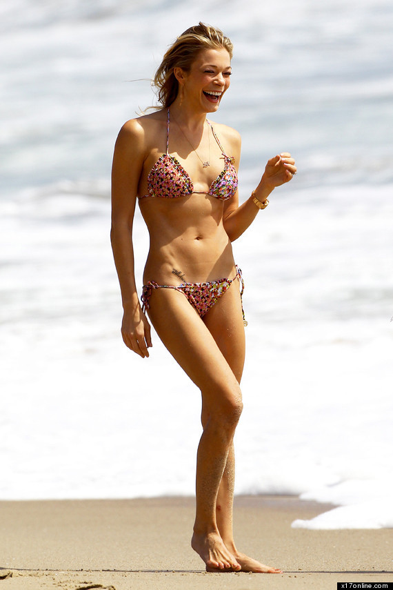 Bikini picture of leann rimes weib